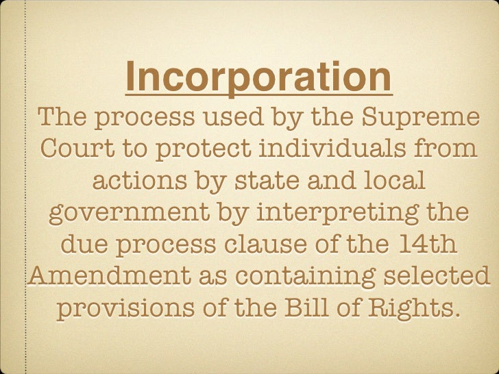 the basic purposes of the 14th amendment clauses Interpretation of the 14th amendment's equal like the 14th amendment's equal protection clause the 'equal protection clause' and 14th amendment have been.