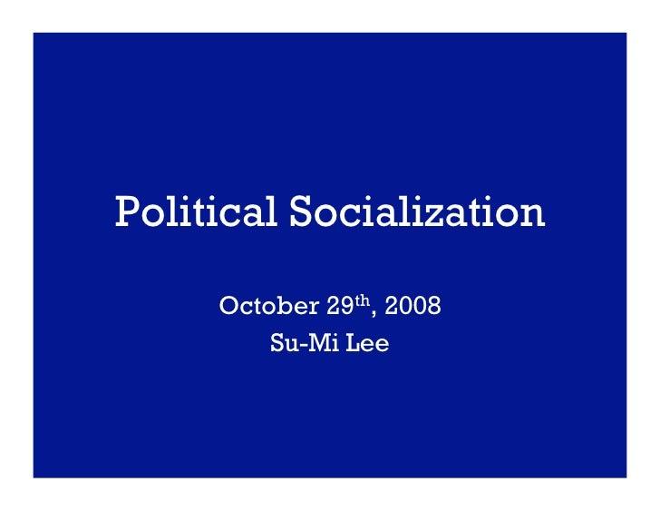 The Political Environment on Social Media