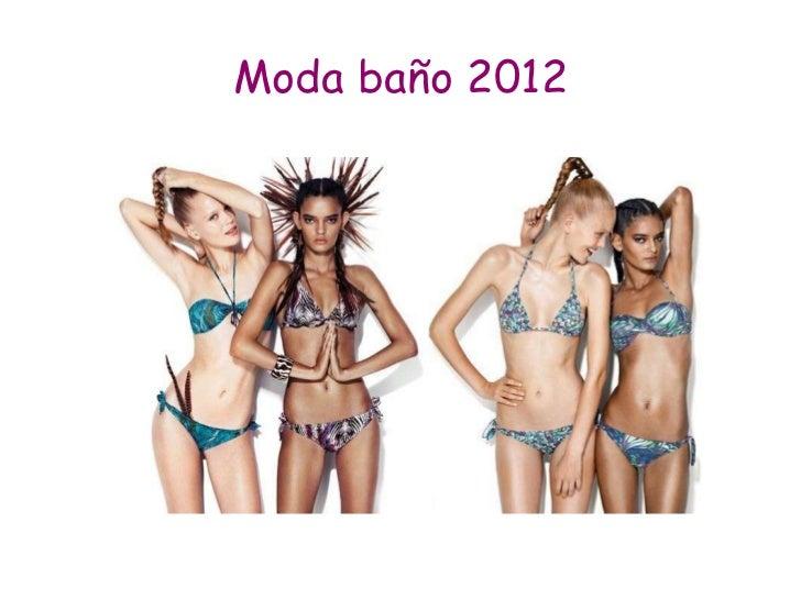 Moda baño 2012
