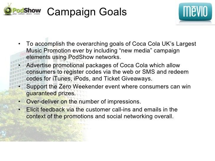 PodShow/Mevio Coca Cola Campaign
