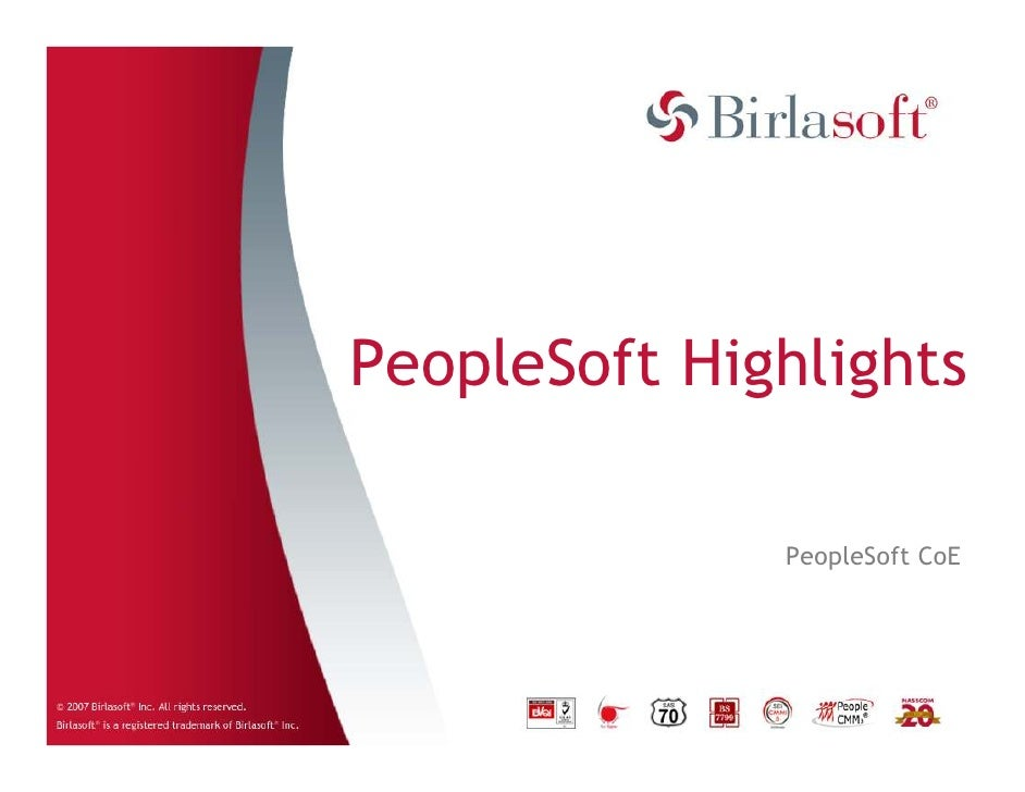 Peoplesoft Campaign