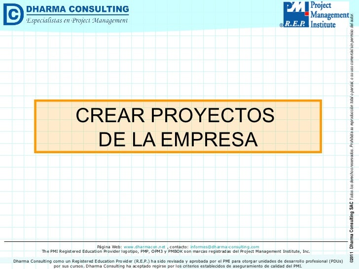 Tips para MS Project 2003: Crear Proyectos de la Empresa
