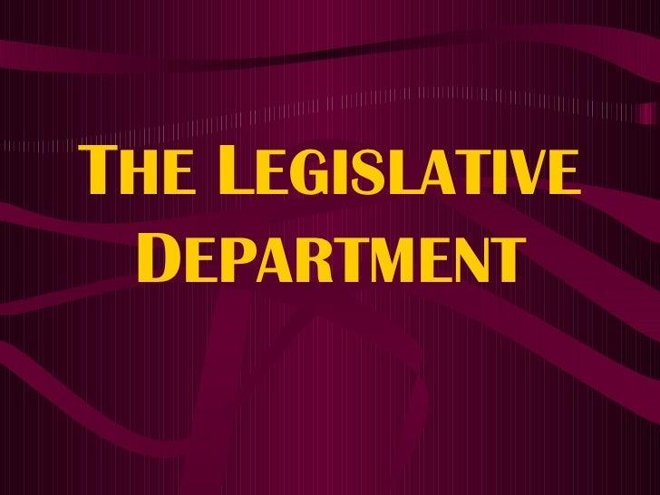 The Philippine Legislature