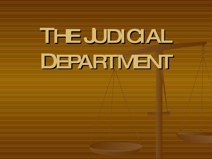 The Philippine Judiciary
