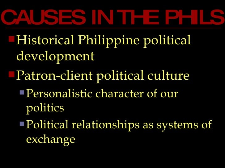 Corruption essay in the philippines