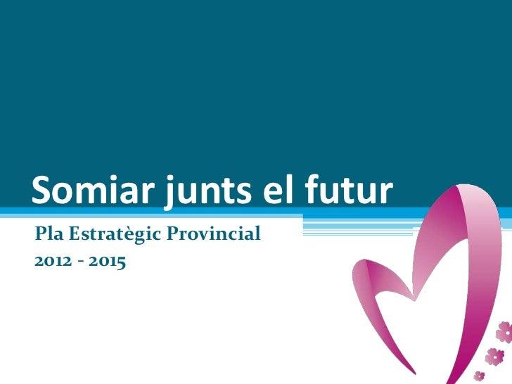 Somiar junts el futurPla Estratègic Provincial2012 - 2015