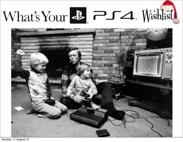 PS4 Christmas 2013