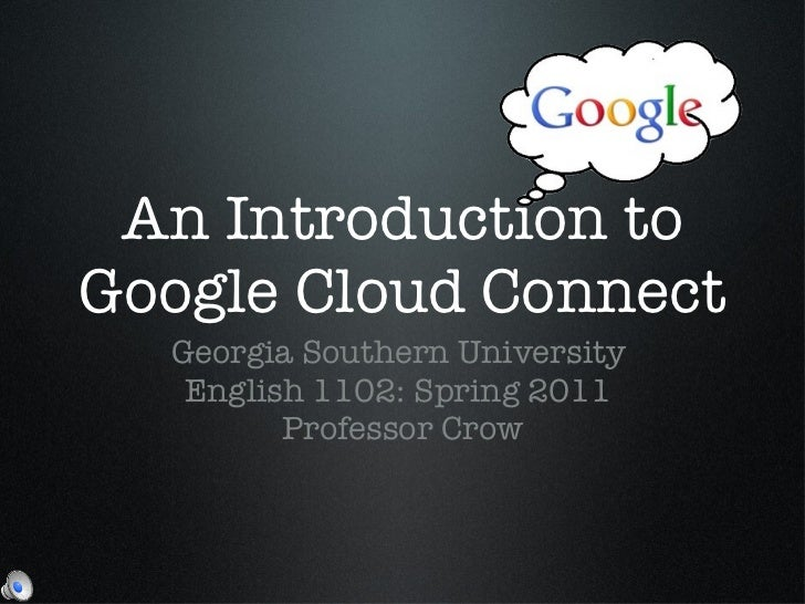 Introduction to Google Cloud Connect