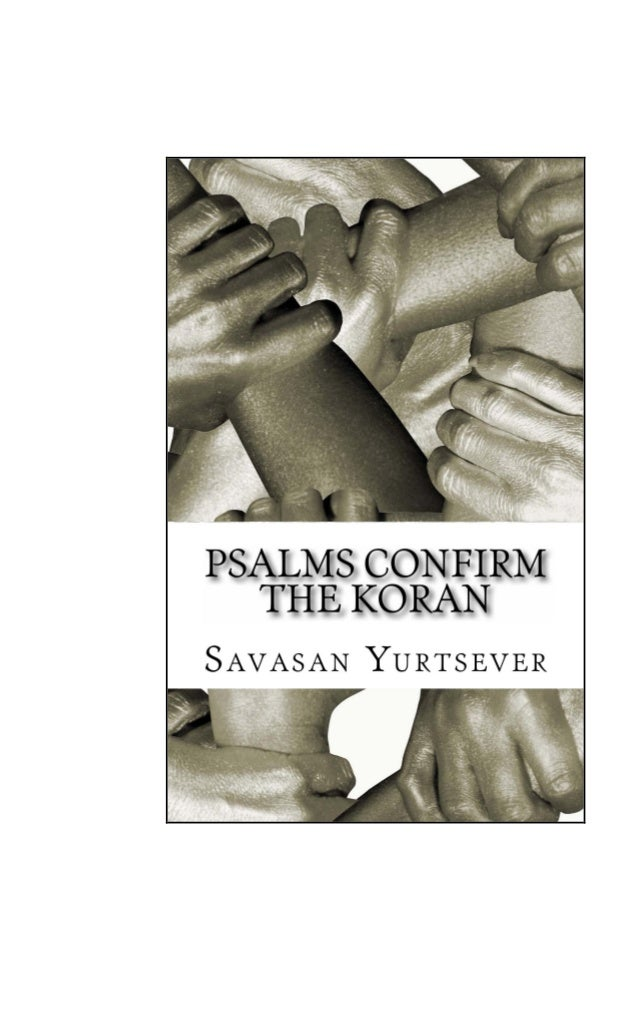 Psalms Confirm the Koran [New Upload]