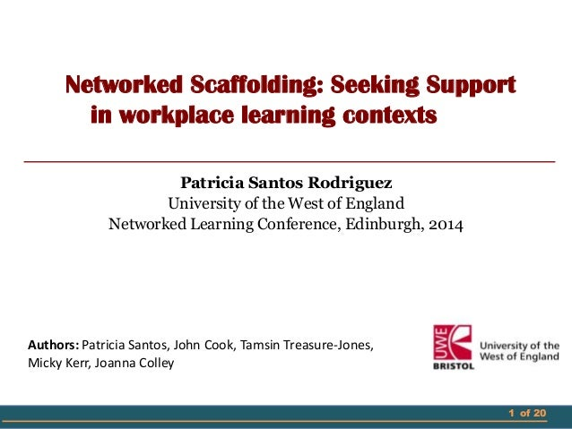Networked Scaffolding: Seeking Support in workplace learning contexts
