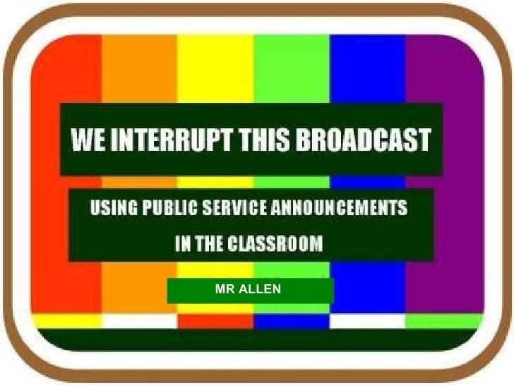 MR ALLEN