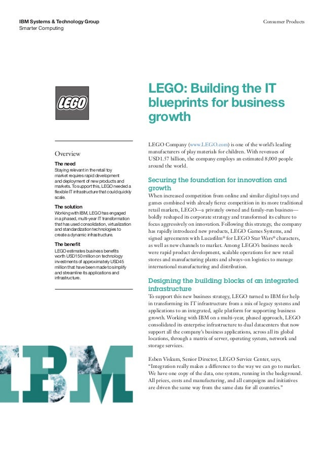 LEGO: Building the IT blueprints for business growth