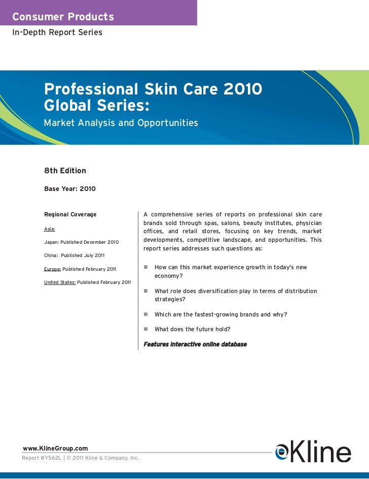 Professional Skin Care 2010 Global Series - Brochure