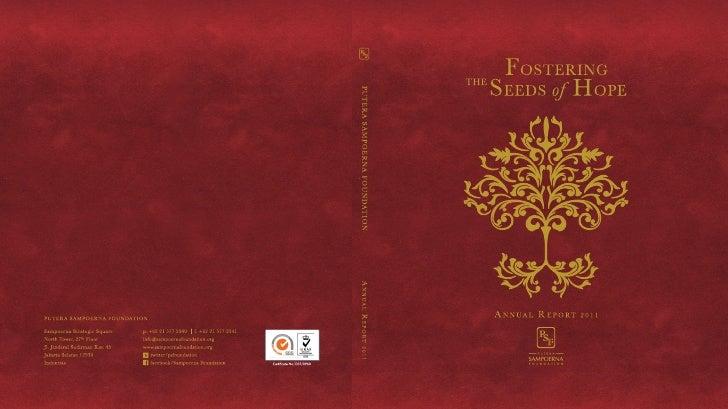 Putera Sampoerna Foundation Annual Report 2011