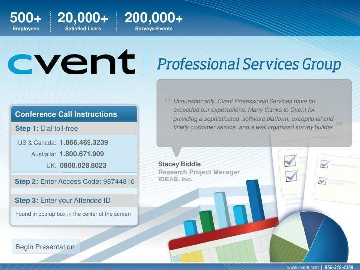 Cvent\'s Professional Services Group