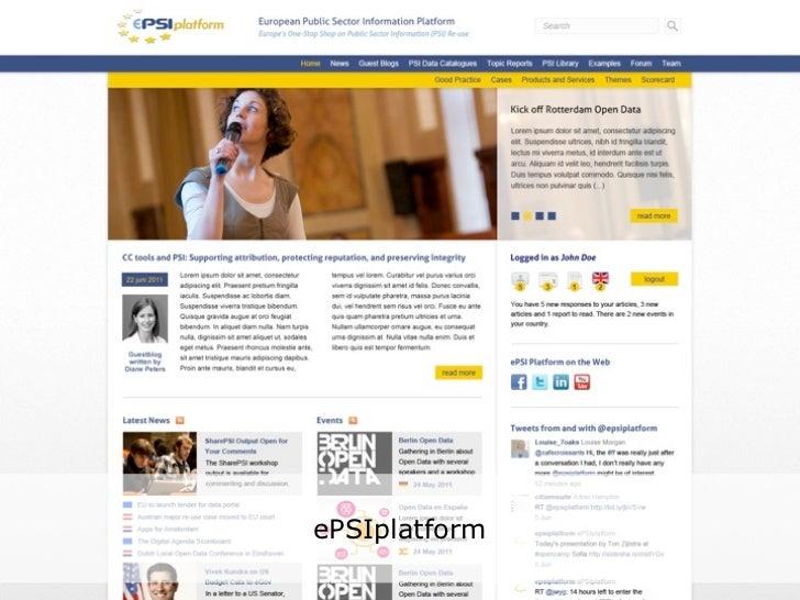 Latest news from the ePSI Platform studies