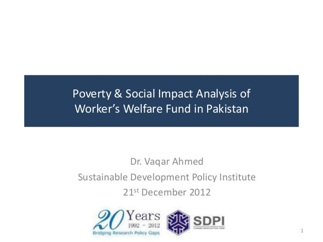 Workers' Welfare Fund in Pakistan