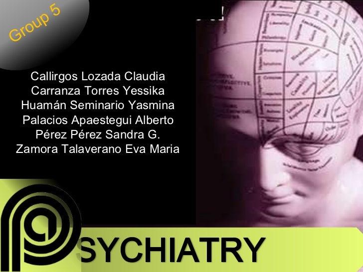 Psichiatry 2003