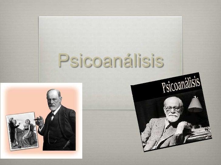Psicoanálisis<br />