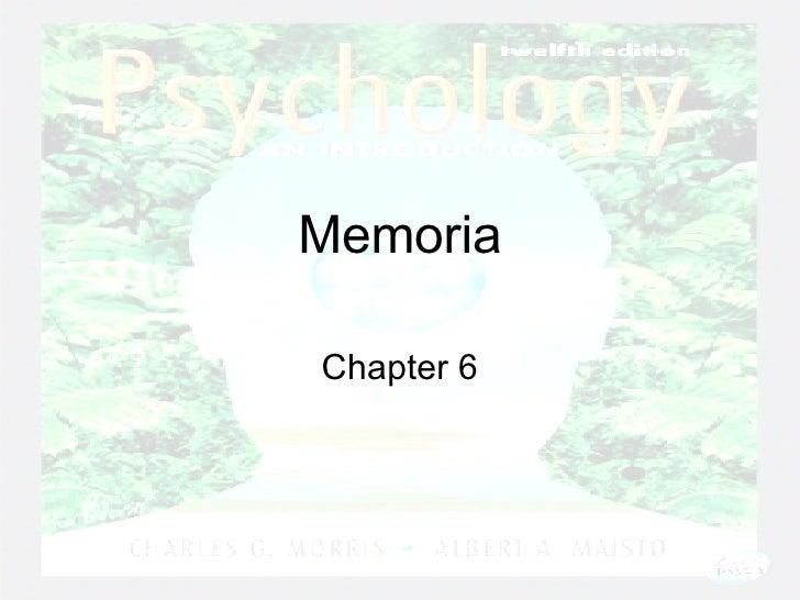 Memoria Chapter 6