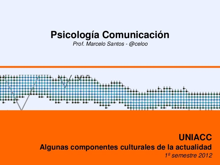Psicologia comunicacion   elementos psicologicos de la sociedad - clase 04