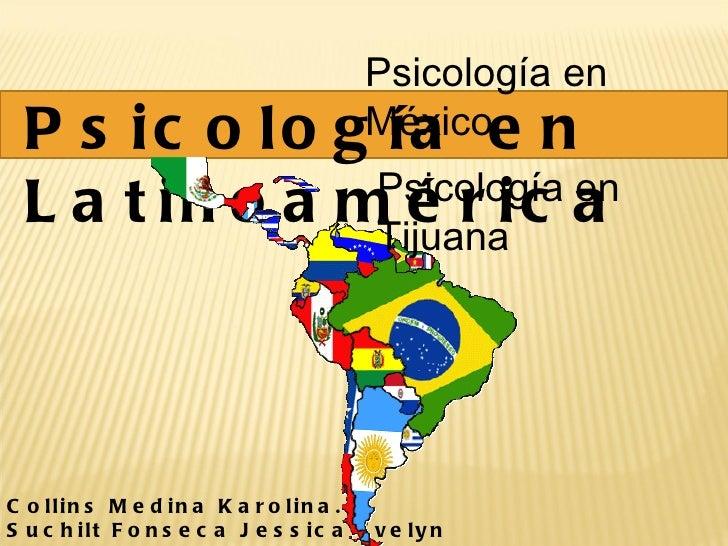 Psicología en latinoamerica