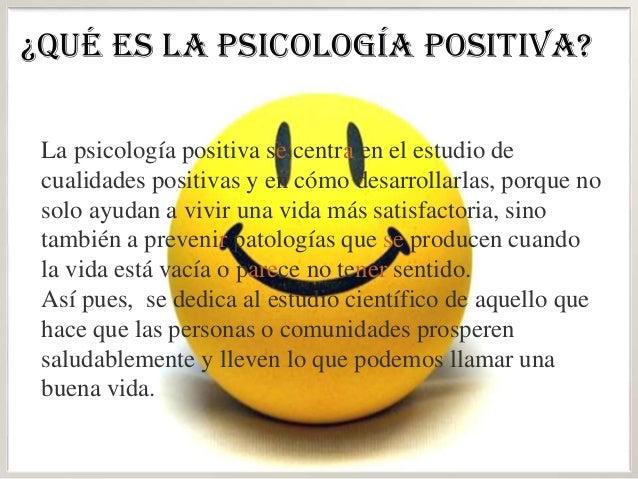 Psicologia positiva curso