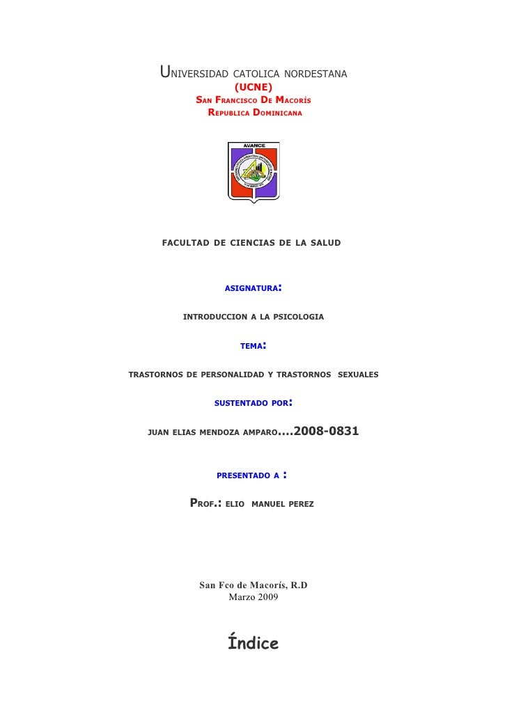 UNIVERSIDAD CATOLICA NORDESTANA                     (UCNE)             SAN FRANCISCO DE MACORÍS               REPUBLICA DO...