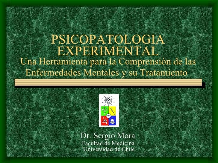 Psicopatologia Experimental