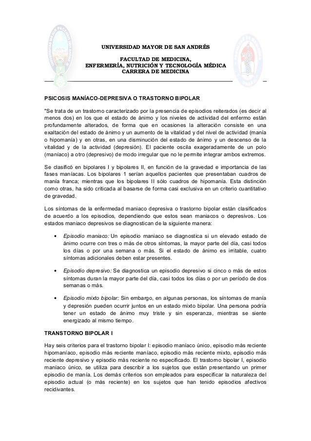 UNIVERSIDAD MAYOR DE SAN ANDRÉSFACULTAD DE MEDICINA,ENFERMERÍA, NUTRICIÓN Y TECNOLOGÍA MÉDICACARRERA DE MEDICINAPSICOSIS M...