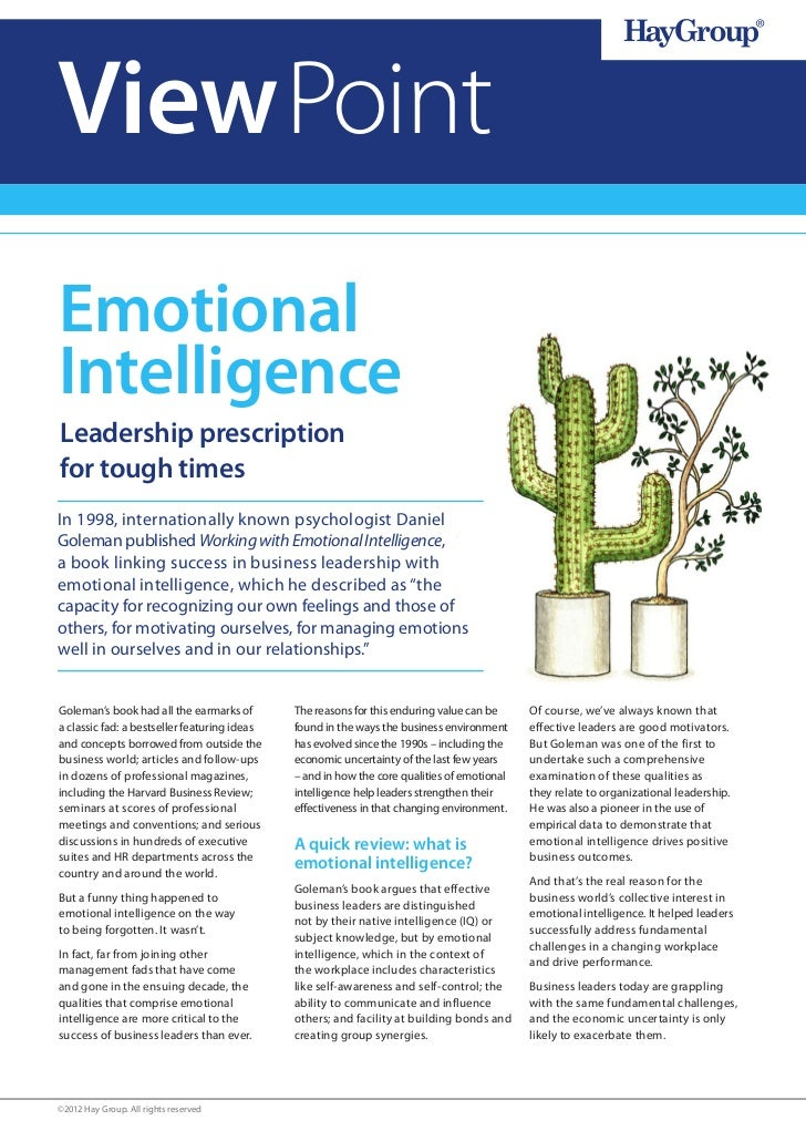 2    View Point    ViewPoint I Reward in a downturn    Emotional    Intelligence    Leadership prescription    for tough t...