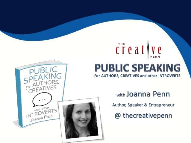 with Joanna Penn Author, Speaker & Entrepreneur @ thecreativepenn For AUTHORS, CREATIVES and other INTROVERTS