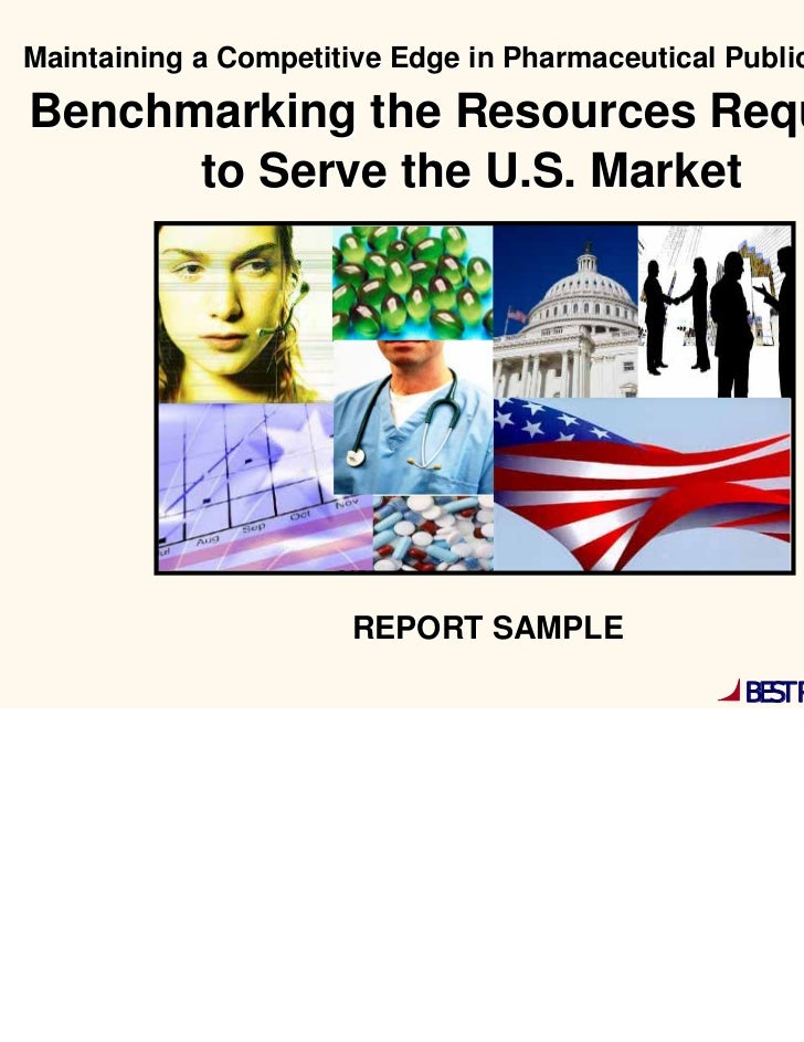 Pharma Public Affairs- Resources Required to Serve the US Market Report Summary