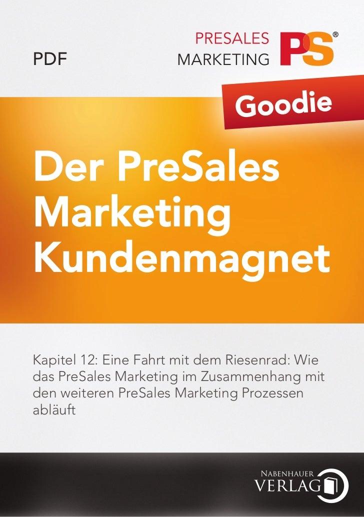 PDF                               GoodieDer PreSalesMarketingKundenmagnetKapitel 12: Eine Fahrt mit dem Riesenrad: Wiedas ...