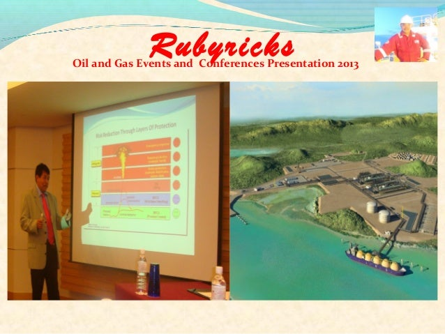 RubyricksOil and Gas Events and Conferences Presentation 2013