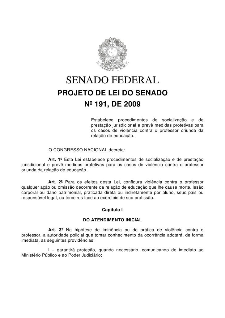 LEI DE PROTEÇÃO AO PROFESSOR
