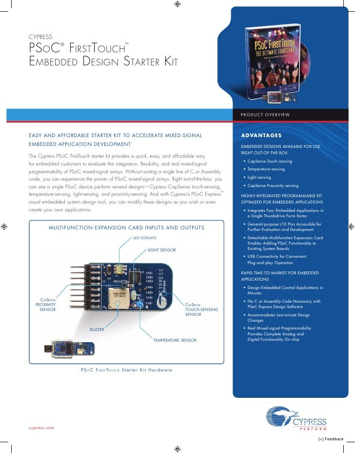 Psoc Kit Firsttouch