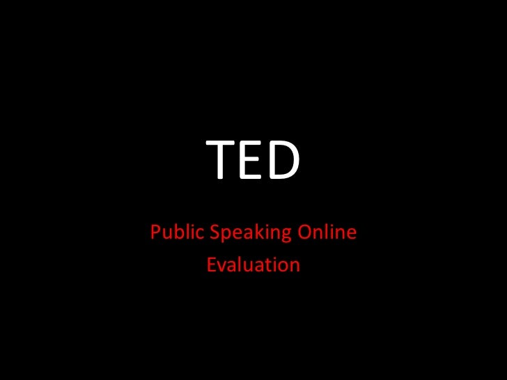 Pso  ted  evaluation