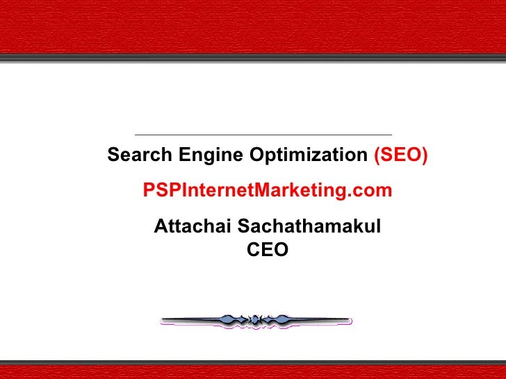 Psp Internet Marketing.Com Services