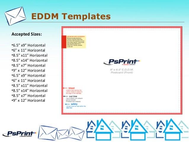 Psprint Designers Eddm Amp Direct Mail Presentation