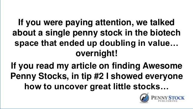 Binary options penny stocks