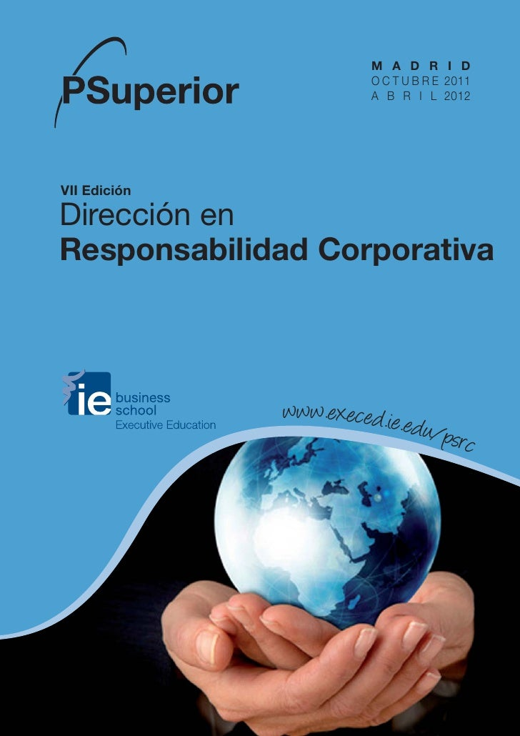 Ps responsabilidad corporativa ie business school