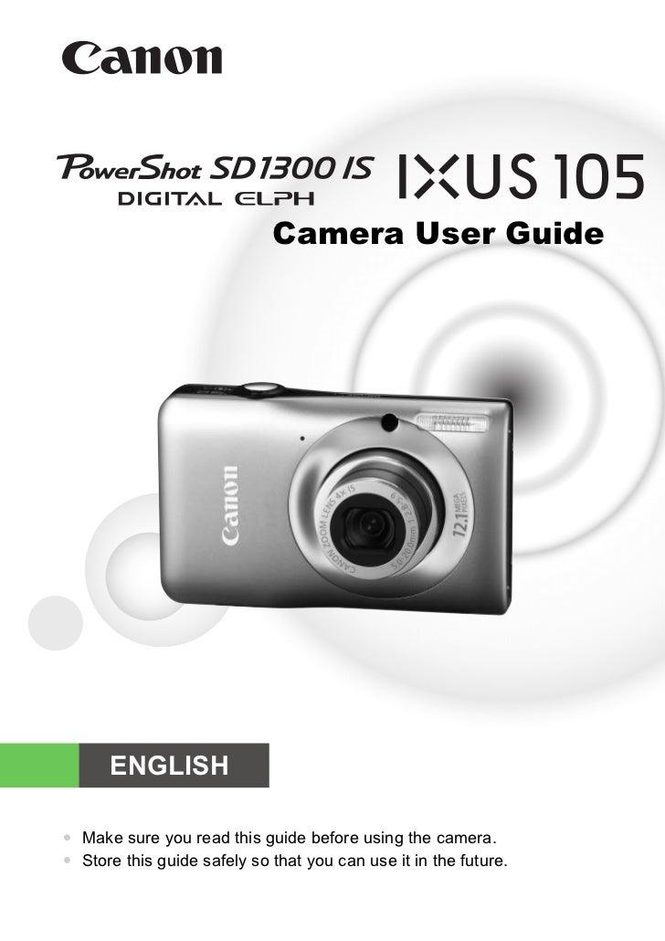 Pssd1300 is ixus105_guide_en