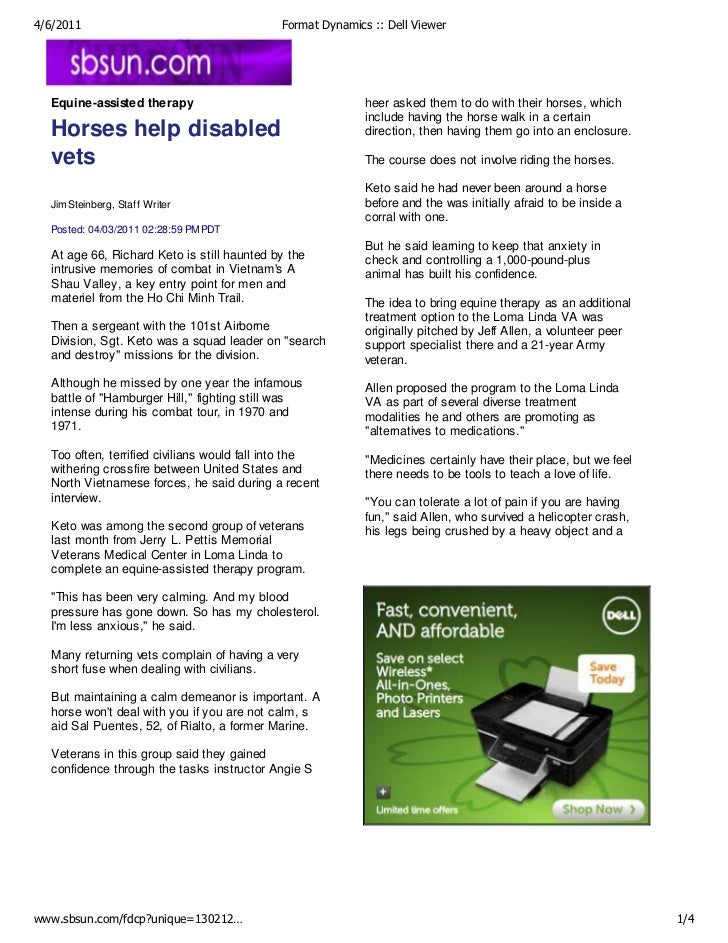 4/6/2011                                    Format Dynamics :: Dell Viewer  Equine-assisted therapy                       ...