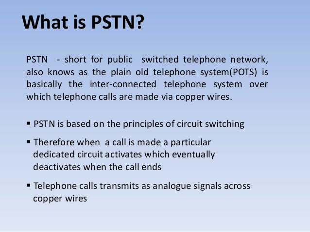 Public Switched Telephone Network on System Architecture Diagram