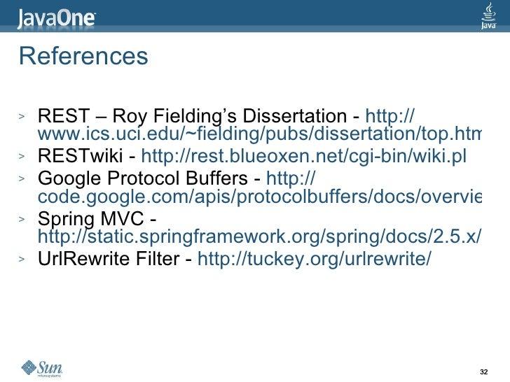 roy thomas fielding dissertation Categories