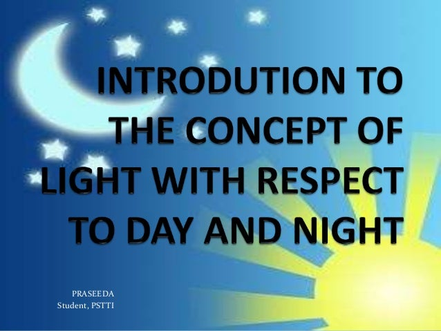 Pstti -Introduction of light