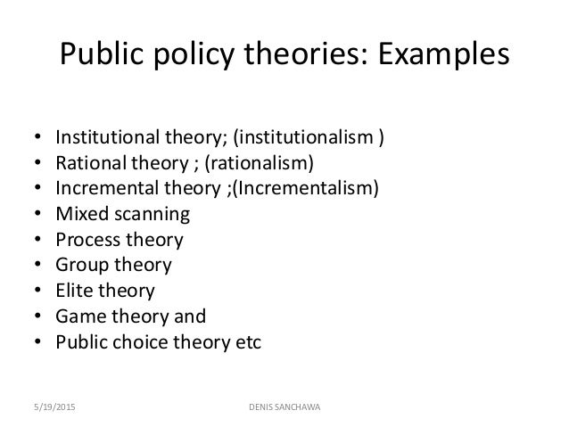 game theory model in public policy Data analysis is critical for the formation of any robust policy  in this particular  study, the authors use evolutionary game theory to approach bribery,  to effect  reduction in bribery and ease the toll it takes on public finances.