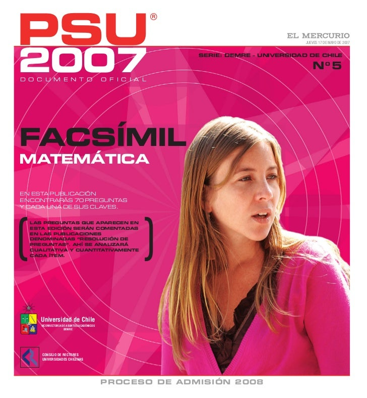 PSU                                                                                  JUEVES 17 DE MAYO DE 20072007D O C U ...