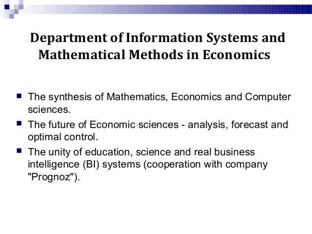 Math university of sydney faculty of economics and business
